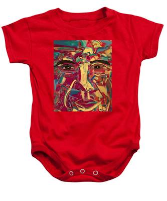 Colored Man Baby Onesie