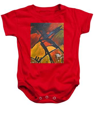 Farmlands Baby Onesie