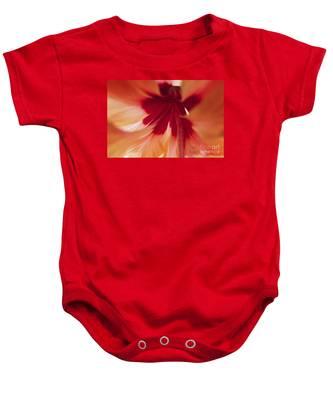 Inside Hibiscus Baby Onesie