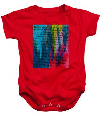 Inspiration From Warhol Baby Onesie