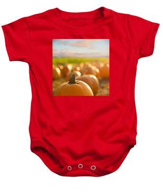 Pumpkin Patch Baby Onesie