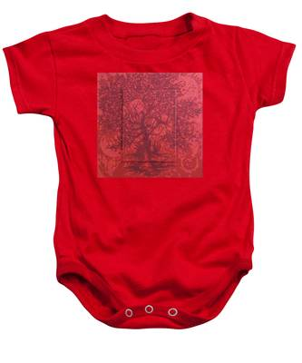 Red Planet Baby Onesie