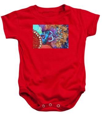 Ruby Slippers 8 Baby Onesie