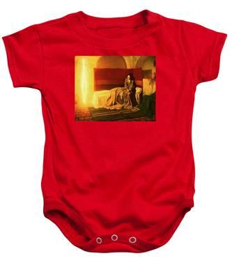 The Annunciation Baby Onesie