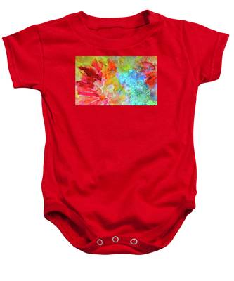 Water Lily Baby Onesie