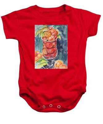 Watercolor Series No. 214 Baby Onesie