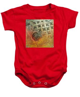 We Are Not Alone Baby Onesie