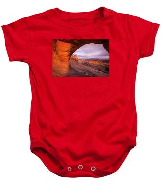 Window To Arch Baby Onesie