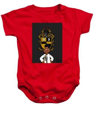 Alpha Phi Alpha Inspired Infant Baby Fine Jersey Bodysuit