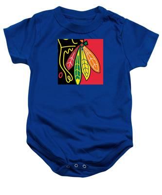 Chicago Blackhawks Baby Onesie