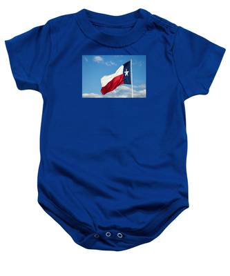 State Flag Of Texas Baby Onesie