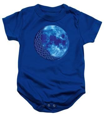 Celtic Blue Moon Baby Onesie