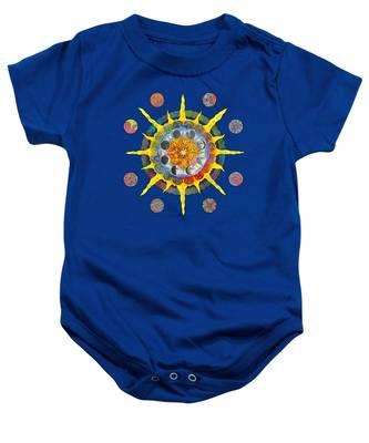 Celtic Stargate Baby Onesie