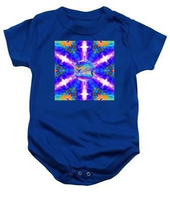 Mystic Universe 15 Kk2 Baby Onesie by Derek Gedney