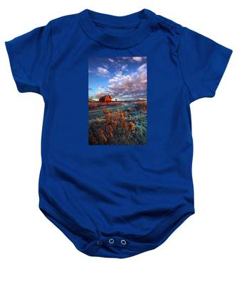 Not All Roads Are Paved Baby Onesie