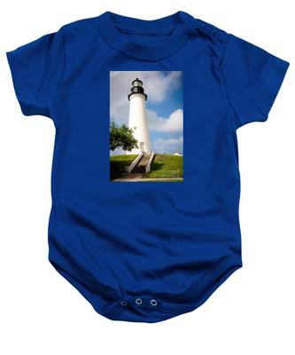 Port Isabel Lighthouse Baby Onesie