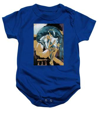 Self Reflection - Of A Dancer Baby Onesie