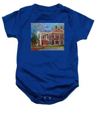 Spring Planting At The Dahlonega Gold Museum Baby Onesie
