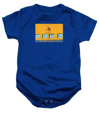 Sweet Town Cafe Baby Onesie by Dart and Suze Humeston