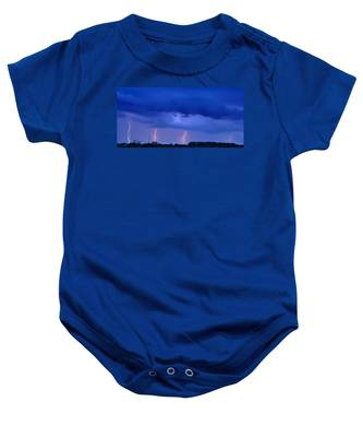 The Approching Storm Baby Onesie