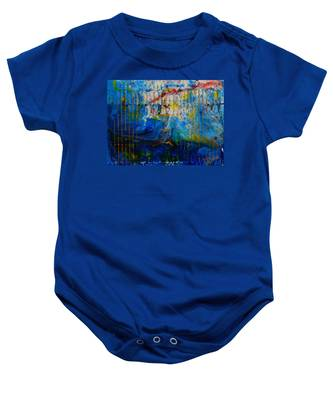 The Sound Wave Baby Onesie