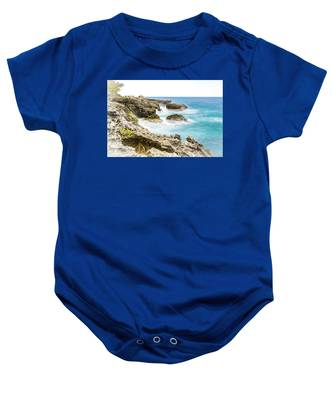 Dreaming Of Negril Baby Onesie
