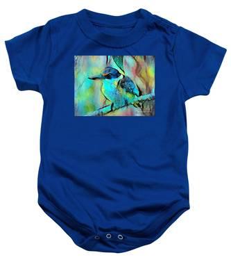 Kookaburra Blues Baby Onesie