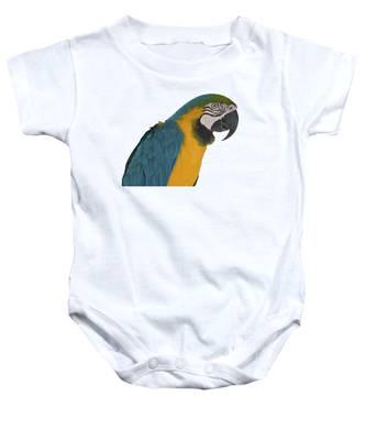 Blue Gold Macaw Baby Onesie