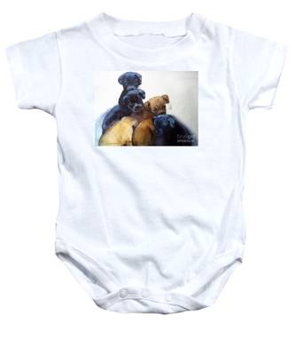 Stray Puppies Baby Onesie