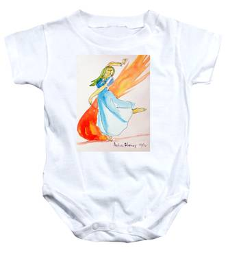 The Blazing Dancer Baby Onesie