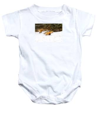 The Race Is On Baby Onesie