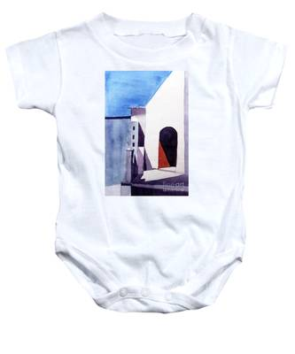 The Shadow Play Baby Onesie