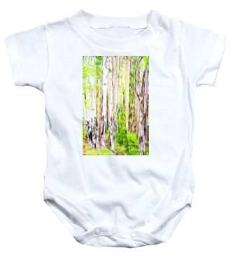 Out Of One Many Fractal Baby Onesie