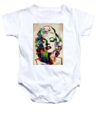 Marilyn Baby Onesie