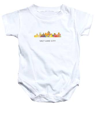 Utah, UT Funny Baby T-Shirt Toddler Tee Made in Salt Lake City