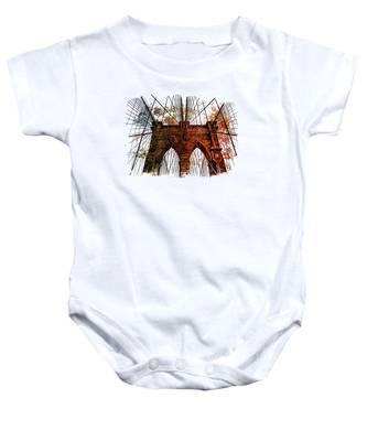 Baby Bodysuit Brooklyn Bridge