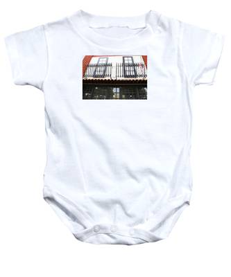 Baby Onesie featuring the photograph Christmas On Calle Ocho by Dart and Suze Humeston