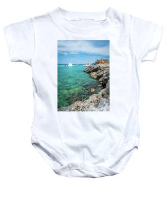 Coastline In Montego Bay Baby Onesie