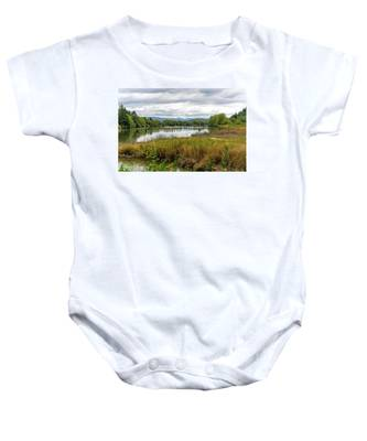 fort Clatsop on the Columbia River Baby Onesie