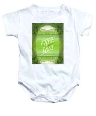 Free Your Soul Grand Canal Forest Fontainebleau Chateau Baby Onesie