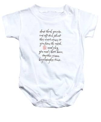 Gatha Eight Baby Onesie