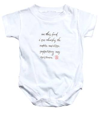 Gatha Three Baby Onesie
