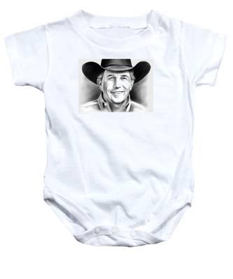 George Strait Baby Onesie