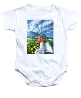 Heaven Sent Baby Onesie