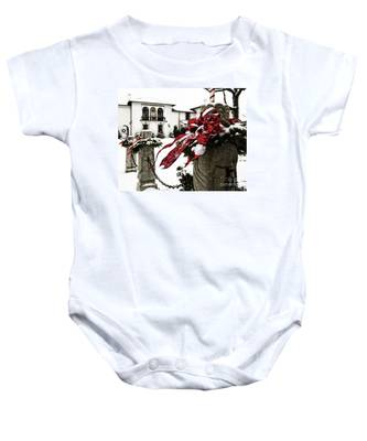 Holiday Home Baby Onesie