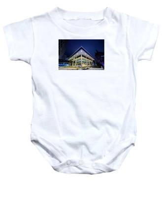 Inverted Pyramid Baby Onesie