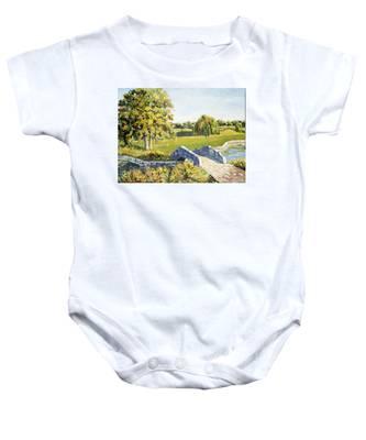 Landscape No. 12 Baby Onesie
