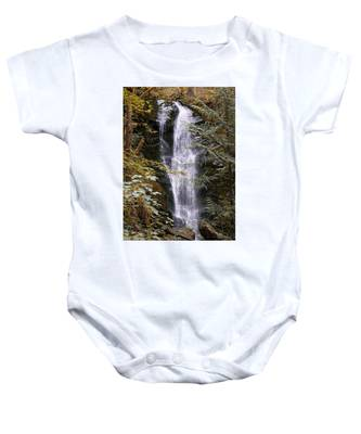 Magical Falls Quinault Rain Forest Baby Onesie
