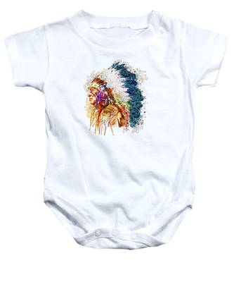 Indian Chief Baby Onesies