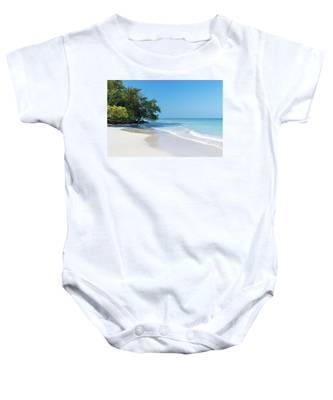 Negril Beach Morning Baby Onesie